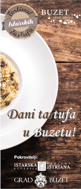 Dani tartufa - Buzet